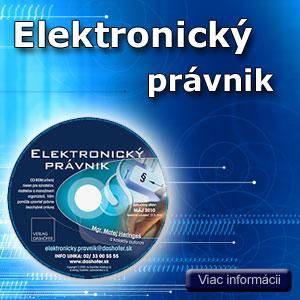 Elektronick� pr�vnik