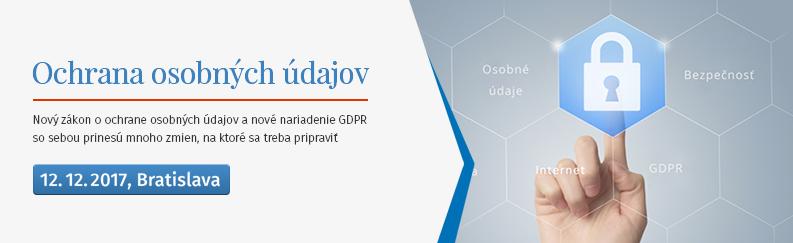 Nová úprava ochrany osobných údajov GDPR o kybernetickej bezpečnosti