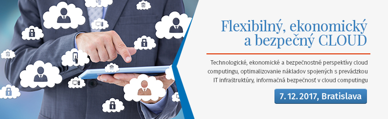 Flexibilný ekonomický a bezpečný cloud
