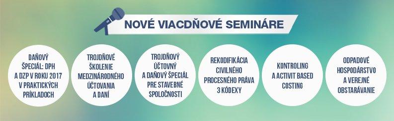 Viacdňové semináre