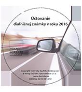 Úètovanie diaµniènej známky v roku 2016
