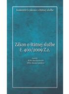 Komentár k zákonu o ¹tátnej slu¾be è. 400/2009 Z.z.