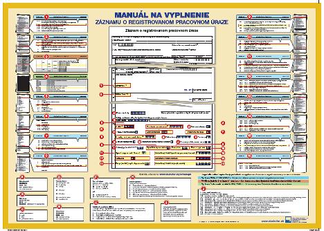 Manuál na vyplnenie záznamu o registrovanom pracovnom úraze