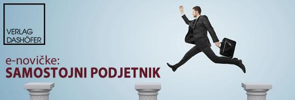 e-novičke: Samostojni podjetnik
