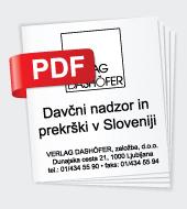 Davèni nadzor in prekr¹ki v Sloveniji