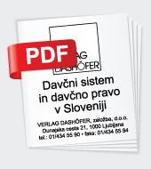 Davèni sistem in davèno pravo v Sloveniji