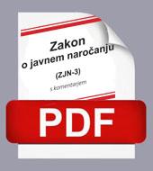 Zakon o javnem naroèanju (ZJN-3) s komentarjem