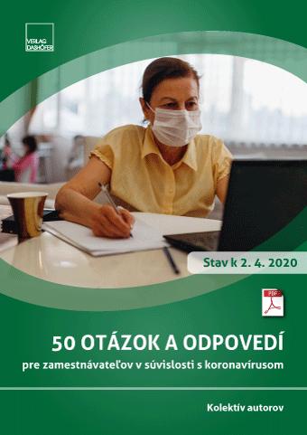 50 otázok a odpovedí pre zamestnávateµov v súvislosti s koronavírusom