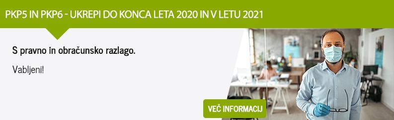PKP5 in PKP6 - ukrepi do konca leta 2020 in v letu 2021