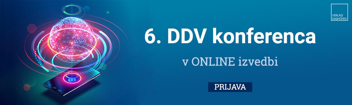 6. DDV konferenca